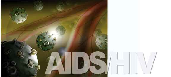 Art of AIDS/HIV cells