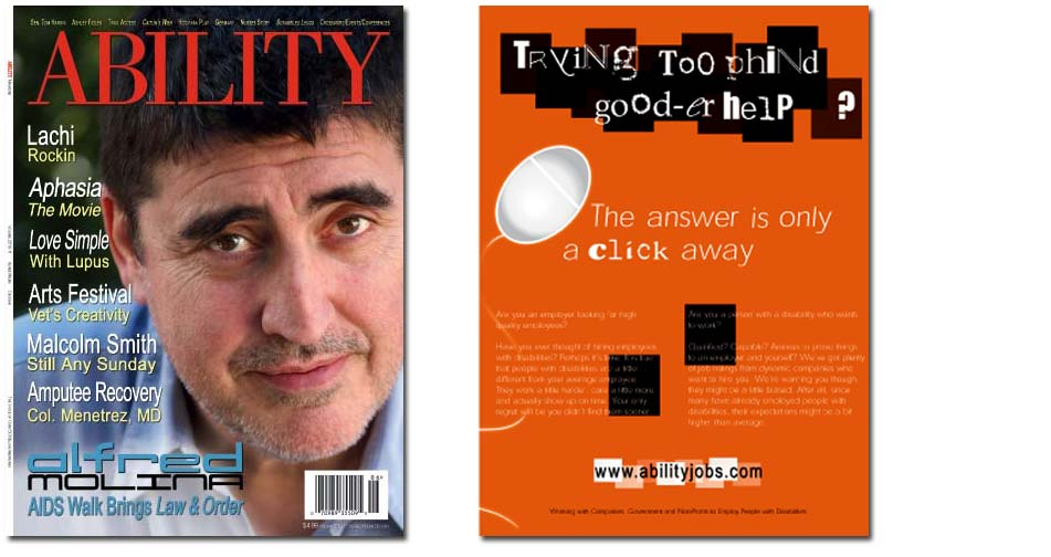 Alfred Molina Issue