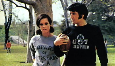 Mary Tyler Moore and Elvis Presley