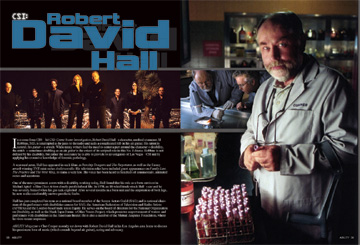 Robert David Hall Spread