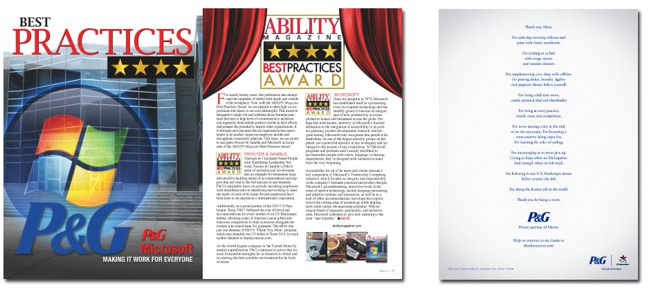 ABILITY Magazine Best Practices Awards