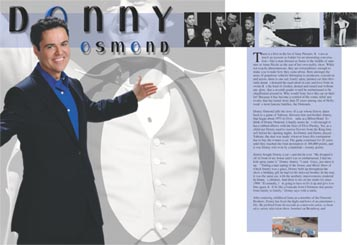 Donny Osmond Article Illustration
