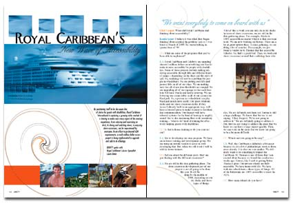Royal Caribbean Spread